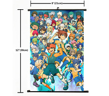 Anime Game 3DS Inazuma Eleven Go Wall Poster Scroll Home Decor Cosplay 2222