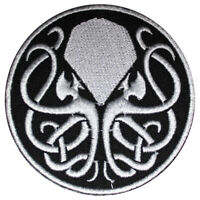 Cthulhu Movie Logo Patch Iron On Sew On Badge Embroidered Patch