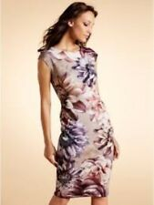 M & Co Floral Print Shift Dress Size UK 16 LF079 OO 11