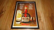 GRAND MARNIER-1973 framed original advert