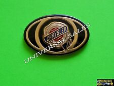 CHRYSLER PT CRUISER OVAL GOLD EMBLEM INSERT WING FRONT 2008-2010 MOPAR NEW
