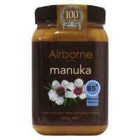 500g New Zealand AIRBORNE PURE MANUKA HONEY 85+ ***BEST PRICE GUARANTEE***