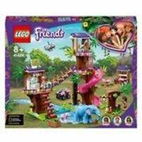 LEGO 41424 Friends Jungle Rescue Base Treehouse Vet Set