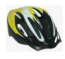 Casco ciclismo Antimosquitos color amarillo blanco carbono de bicicleta 3944l