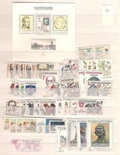 1990 MNH Czechoslovakia year collecttion according to Michel system