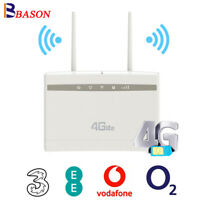 300Mbps 3G 4G Router LTE Mobile Broadband Wireless WiFi Hotspot Router RJ45 Port