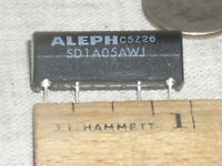 5VDC Normally Open Reed Relay SPST SIL05-1A72-71D