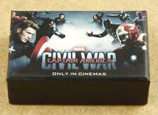x7 Marvel Captain America Civil War Official FilmMemorabilia 8GB USB Flash Drive