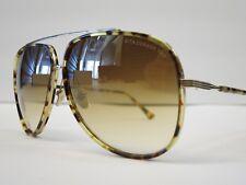 DITA CONDOR TWO Tokyo Tortoise 12K Gold Brown Mirror Glasses Eyewear Sunglasses