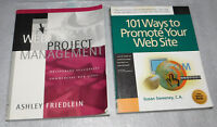 Web Project Management 101 Ways Promote Site Reference Friedlein Sweeney PB