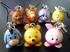 Winnie the Pooh & Friends EGG-STRA FUN Figure Charms (a Set of 7) ***RARE***