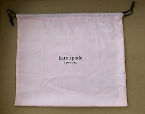 "Kate Spade 17"" X 19"" Dust Bag Purse Handbag Cover Pouch  New 19"" X 17"""
