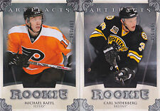 13-14 Artifacts Carl Soderberg /899 Rookie Redemption Bruins 2013