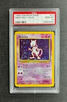Pokemon PSA 10 Mewtwo 4th Print 1999 - 2000 English Base Set #10 - GEM MINT