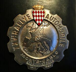 Badge émaillé RALLYE MONTE-CARLO 1955 rally badge