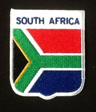 SOUTH AFRICA AFRICAN NATIONAL COUNTRY FLAG BADGE IRON SEW ON PATCH CREST