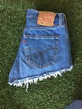 "Vintage Levi 501 High Waist Shorts 30"""
