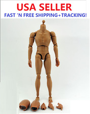 "1/6 Scale ZY BODY 12"" figure Male Narrow Shoulder with NECK B006 for Head Play"