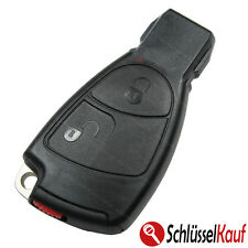 Mercedes 2 Tasten Gehäuse Autoschlüssel Set W169 W202 W203 W208 W210 W211 W245