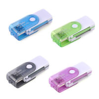 4 in 1 USB 2.0 Memory Card Reader For MS-PRO TF Micro SD Mulit Color Random Send