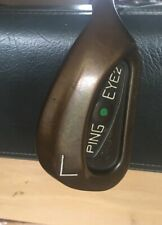 "Ping Eye 2 + Beryllium Copper Lob Wedge.Awesome Condition. 35 1/4"". GREEN Dot."