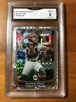 2012 Bowman Chrome  Xfractor Buster Posey #3 San Francisco Giants GMA Mint 9