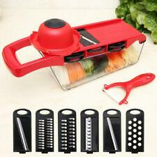Multifunction 6 In 1 Cutter Machine Vegetable Salad Slice Peel Cooking Tool #K