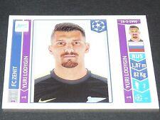 199 LODYGIN ZENIT ST PETERSBURG PANINI FOOTBALL UEFA CHAMPIONS LEAGUE 2014-2015