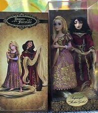 LE Disney Designer Fairytale Collection Heroes vs Villains Rapunzel and Gothel