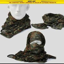 Germany Freckle Camouflage Camo Mesh Breathable Scarf Wrap Mask Shemagh Veil