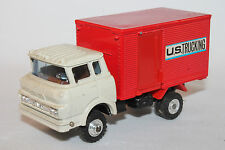 1970's Gmc Cabover Us Trucking Delivery Truck, Shinsei Mini Power, Nice Original