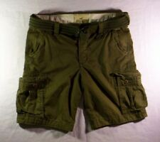 Hollister by Abercrombie & Fitch Men's Olive Green Cargo Shorts Size 30 NWT