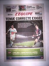 L'EQUIPE 29 AVRIL 2006 MARSEILLE OM - PARIS PSG FINALE COUPE DE FRANCE