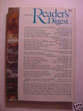 Reader's Digest October 1973 Lowell Thomas Floyd Miller