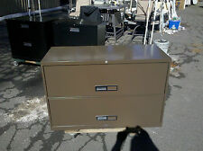 """FILE CABINET 2 DRAWER LATERAL 42"""" Brown McDowell & Craig WeDeliverLocally Nor CA"""