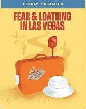 Fear and Loathing in Las Vegas (Blu-ray Disc, 2014, Limited Edit Steel Case) NEW