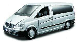 Mercedes-Benz Vito, Argent, Bburago Rue Fire 1:3 2 , Neuf, Emballage D'Origine