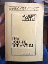 The Bourne Ultimatum Unrevised Proof Robert Ludlum  Collectors Item