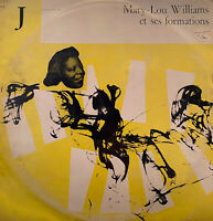 "VERY RARE JAZZ 10"" MARY LOU WILLIAMS WITH FORMATIONS OG FRENCH CLUB FR DU DISQUE"