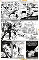 Giant Size Dracula #4 Marvel 1975 (Original Art) Pg 34 - Don Heck