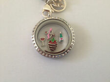 Cupid's Love is in the Air Valentines Day Floating Charms for Origami Owl Locket