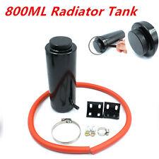 Aluminum Alloy 800ml Cylinder Radiator Overflow Reservoir Coolant Tank Universal