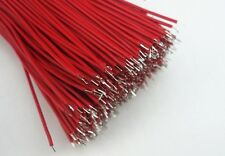 30PCS Red Double Headed Tinned Cable 31cm 7Cores Thin Long Wires Power Cable DIY