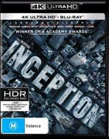 Inception : NEW 4K UHD Blu-Ray