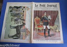 Le petit journal 1905 756 spain king Alphonse xiii harras jardy Edouard vii