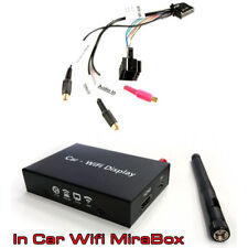 BMW 3 5 series X5 Audio Video Input lead with MIrror LInk smartphone Interface