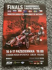 More details for speedway of nations 2020 programme