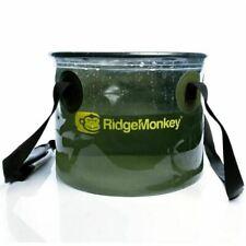 Ridge Monkey 10L Perspective CollapsibleBait Bucket
