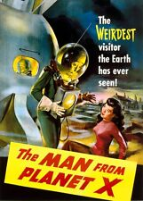 Classic 1951 Film: THE MAN FROM PLANET X - Sci-Fi Time Travel Movie