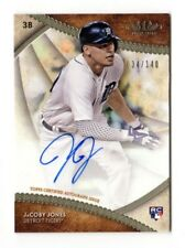 JaCOBY JONES MLB 2017 TOPPS TIER ONE BREAK OUT AUTOGRAPHS #/140 (DETROIT TIGERS)